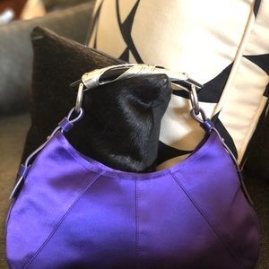 Yves St. Laurent Tom Ford Satin Mombasa Bag EUC